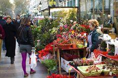 Flowers @ Las Ramblas (Barcelona)
