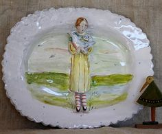 Pottery by Julie Whitmore.