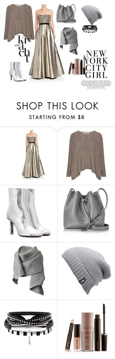"""""""Women's fashion"""" by room140701 ❤ liked on Polyvore featuring Pamella, Pamella Roland, Vetements, Lancaster, Acne Studios, The North Face and Laura Mercier"""