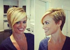 Asymmetrical-Blonde-Pixie-Haircut-Idea Best Asymmetrical Pixie CutsYou can find Asymmetrical pixie and more on our website. Short Asymmetrical Hairstyles, Asymmetrical Pixie Haircut, Short Pixie Haircuts, Pixie Hairstyles, Short Hair Cuts, Short Hair Styles, Pixie Styles, Asymetrical Short Hair, 2015 Hairstyles