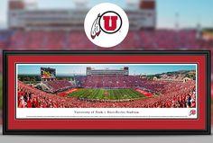 University of Utah Utes Panoramic Pictures & Posters