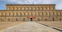 Palazzo Pitti em Florença #viajar #viagem #itália #italy