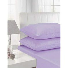 4ft Fitted Sheets Polycotton Bed Sheets 4ft Size Bed Deep Poly Cotton Bedding , Lilac Fitted Sheets, Bed Sheets, Cotton Bedding, Mattress, Lilac, Deep, Furniture, Home Decor, Decoration Home
