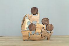 Gatos, bloques de madera, juego balance, finas habilidades motoras, aprendiendo el juguete, juguete de la dirección