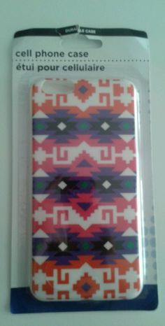 AZTEC TRIBAL II PATTERN HARD BACK COVER CASE FOR iPHONE 6 PLUS/6S PLUS BN SEALED in Cell Phones & Accessories, Cell Phone Accessories, Cases, Covers & Skins   eBay