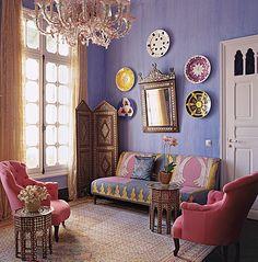 Maroccan inspired interior