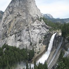 Check out this slideshow View from Nevada Falls, Yosemite in this list Great Hikes Around The U.S.