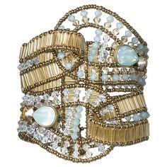 Orquidea Opulent Bracelet - Caleidoscópio - Designer Collections - Swarovski Elements