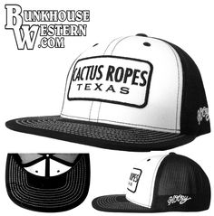 #GetYourHOOey, @cactusropes  Hooe Flatbill Patch Cap, Rodeo, Cowboy, Roping, $29.98, http://bunkhousewestern.com/bnwc
