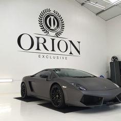 Orion Luxury Vehicle Wrap Logo Design