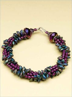 Master the art of kumihimo braid as you make this fun bracelet designed by Sue Charette-Hood