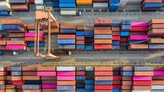 Container ship in export and import business and logistics. Shipping cargo to harbor by crane. Photo about shipping, bangkok, crane, logistics - 134775428 Transport International, Aerial View, Crane, Transportation, How To Draw Hands, Container, Vector Hand, Ship, Stock Photos