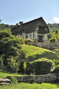 Chaumière à colombages - Yvetot - France