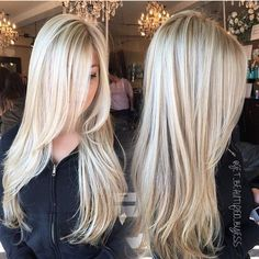 Golden Blonde Balayage for Straight Hair - Honey Blonde Hair Inspiration - The Trending Hairstyle Dyed Blonde Hair, Golden Blonde Hair, Blonde Hair Looks, Blonde Balayage, Hair Dye, Honey Balayage, Bayalage, Ash Blonde, Dark Hair
