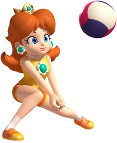 Daisy, Beach Volleyball - Mario & Sonic at the London 2012 Olympic Games