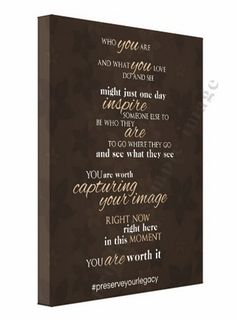"One Motivated Mama Inspirational ""Who you are"" Canvas by Ana Brandt. www.shoptaopan.com #inspiration #motivation #whoyouare #capturingyourimage #youareworthit #canvas #wallart #motivatedmama"