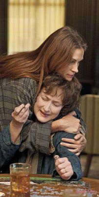 August : Osage County, not always easy to watch but worth it for the brilliant acting