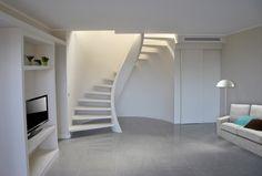 Le scale elicoidali di design di Pira