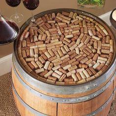 Discover our Recycled Barrel Pub Table & 2 Pub Stools Set Only at IWA Wine Accessories! Pub Decor, Wine Decor, Wine Barrel Table, Wine Barrels, Wine Table, Cork Table, Pub Stools, Outdoor Patio Bar Sets, Pub Interior