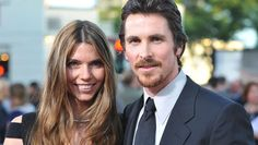Christian Bale and Sibi Blazic #CelebrityWives