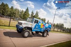 New Kamaz for Dakar 2016.. Also with a torpedo like De Rooy? =]