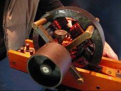 Tesla's Induction Motor