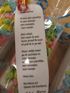 Dank je Geert De Kockere voor deze mooie tekst! (Parels in een doosje) moederdag 2014
