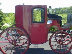 Brougham carriage 1890