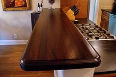 21 best Custom Wood Bar Tops images on Pinterest | Wood bar top, Bar ...