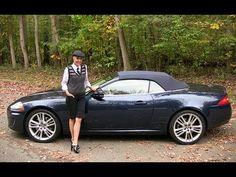 2011 Jaguar XK Convertible Test Drive & Car Review - RoadflyTV - YouTube