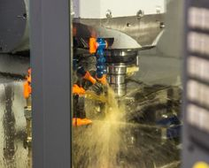 Milling underway in a Valbray CNC machine 5 Axis Cnc, Cnc Machine, Milling, Articles