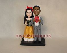 custom wedding cake toppercake topper for by dealeasynet on Etsy