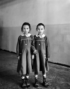 Vanessa Winship...(weren't they in The Shining?..creepy) twins ,,, there's 2 of them ....