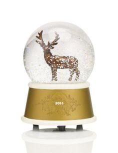boule neige lumineuse avec paillettes d coration de no l boules de nei. Black Bedroom Furniture Sets. Home Design Ideas