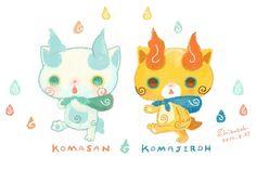 Komasan y Komajiro