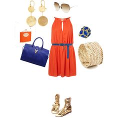 """First AU gameday outfit"" by peyton-au on Polyvore"