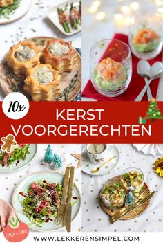 Veggie Christmas, Christmas Food Treats, Xmas Food, Dutch Kitchen, Party Snacks, Tapas, Good Food, Food And Drink, Appetizers