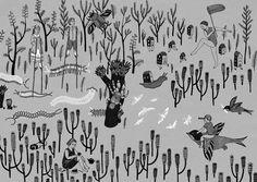 Perfectly Prepared (part III) - illustration by Rita Fürstenau