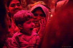 Holi 2015 in mathura district !! INDIA