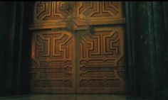 The door to Erebor, before the dragon came