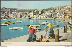 St Ives Harbour, Cornwall, 1961 - Jarrold Postcard