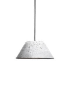 Urbi et Orbi's Mons Lamp is handmade from concrete by a team of skilled artisans in Athens.
