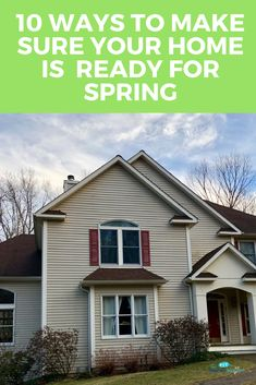 Spring Cleaning 101: 10 Ways to Make Sure Your Home is Ready for Spring | The Mama Maven Blog @Allstate #ad #springcleaning #spring #helpful  via @themamamaven