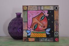 Mixed Media Original  Whimsy Wonders by bfree2create on Etsy, $50.00