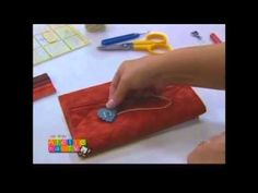Patchwork Ana Cosentino: Necessaire Monograma - YouTube