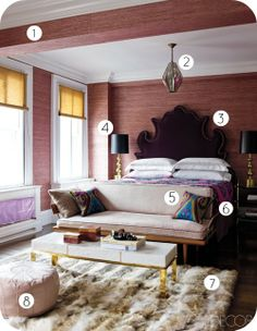 Chic bedroom product list