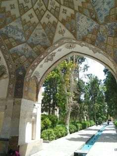 Fin garden ● Kashan ● Iran ● Photo by Pedro Gonçalves ● @gonalves0022