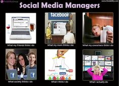 A day in the life of a social media manager...