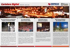 Cartelera Digital // Corpoelec