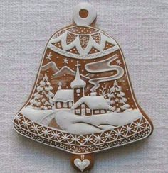 Today we are looking at Moravian and Bohemian gingerbread designs from the Czech Republic. Back home, gingerbread is eaten year round and beautifully decorated cookies are given on all occasions. Fancy Cookies, Cute Cookies, Royal Icing Cookies, Holiday Cookies, Cupcake Cookies, Christmas Goodies, Christmas Treats, Christmas Baking, Christmas Gingerbread House